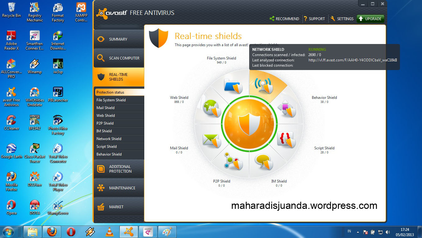Descargar antivirus gratis para PC y ms - AVG AntiVirus FREE